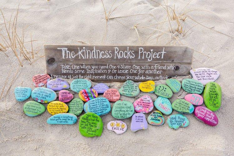 Photo:    The Kindness Rocks Project