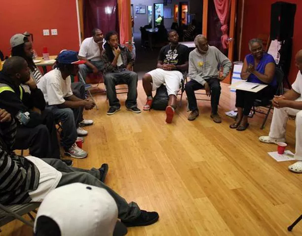 Photo:    Church for Black Men and Families