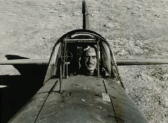 R.T. Smith at the controls