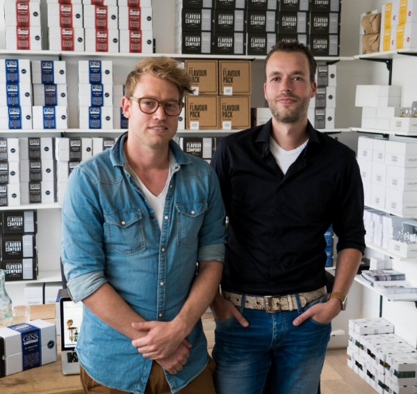 MyParcel klanten Erik en Martijn van The Flavour Company