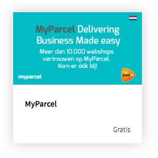 Activeer de MyParcel app met één klik vanuit de Lightspeed app store