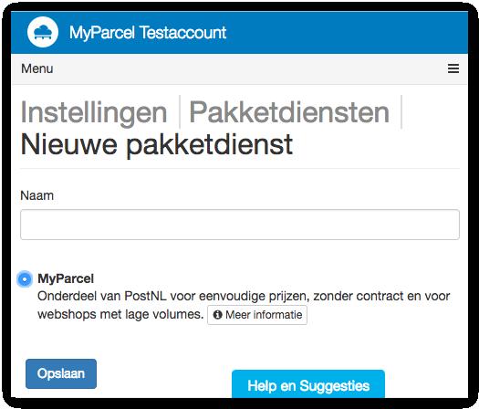 Picqer backoffice, MyParcel plug-in staat klaar