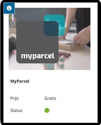 Activeer de MyParcel add on direct in Shoptrader