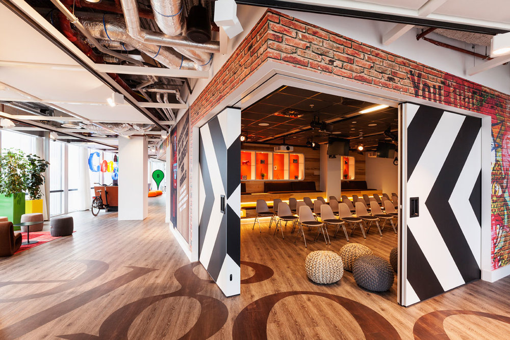Google office Johan Cruyf zaal