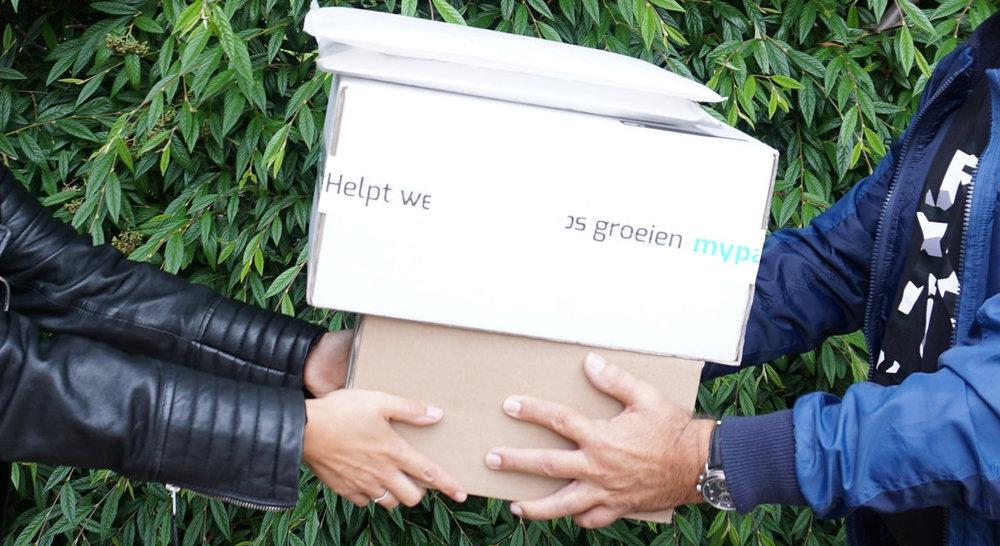 Pakketten laten ophalen met de MyParcel haalservice