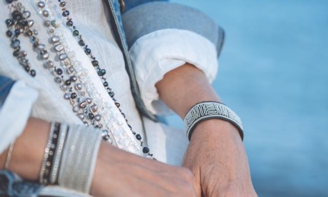 tenntråd, armband, halsband