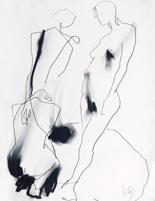 Copy of Kolteckning. Lina Burman