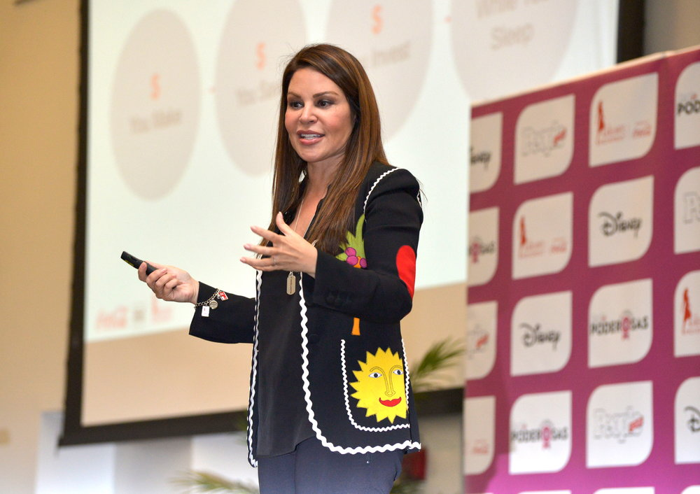 Nely Galan, Self Made Media Mogul, has dedicated her mission to teach women, regardless of their background or age, how they too can become entrepreneurs.