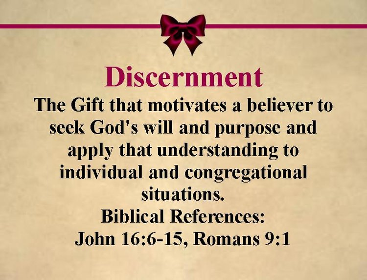 Spiritual gifts holy redeemer church gift discernmentg negle Image collections
