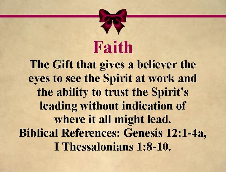 Spiritual gifts holy redeemer church gift faithg negle Image collections