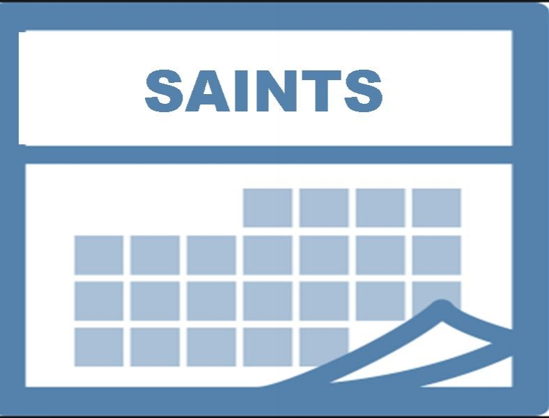Saint of the Day    Click here to learn more about the saints! Great for a daily devotional.