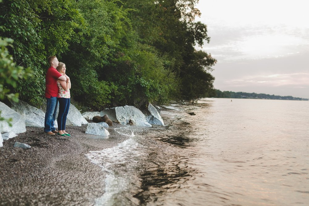 Rochester Lake Ontario Beach Engagement