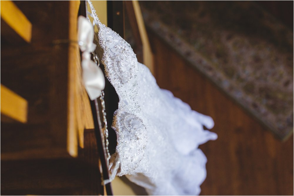 Wedding Dress Picture by Buffalo Photographer