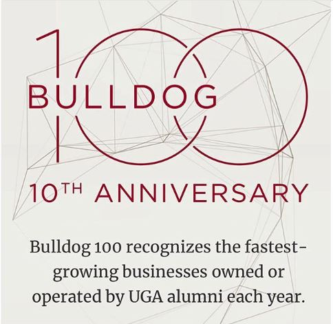 UGA Bulldog 100 Award-Winner