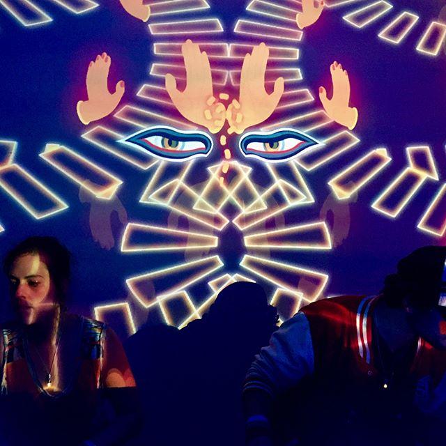 👁🔮💎Beda Beat x KittydeliK💎🔮👁 // Eclipse sous la Canopée ✨⭐️ #party #vjing #vj #nightlife #psychedelic #trippy #magicnight #bedabeat #kittydelik #latreve #canopée