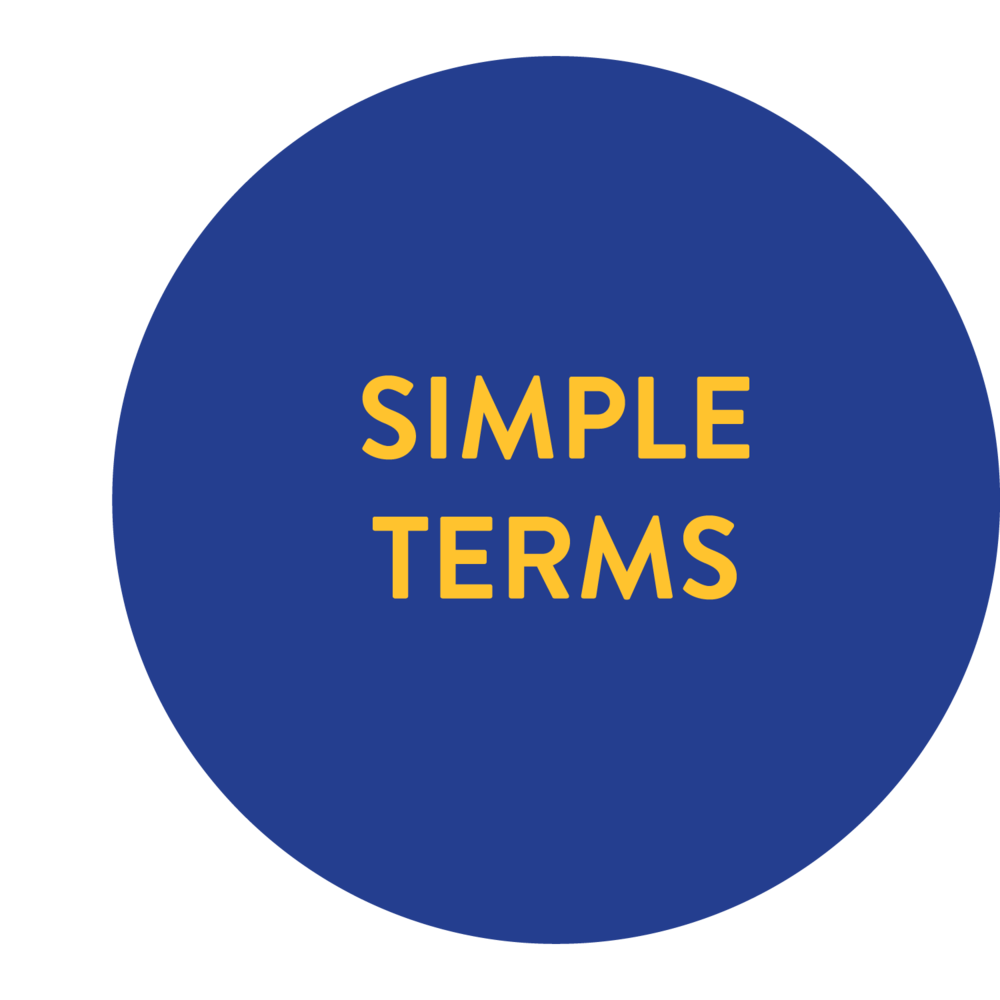 simple terms