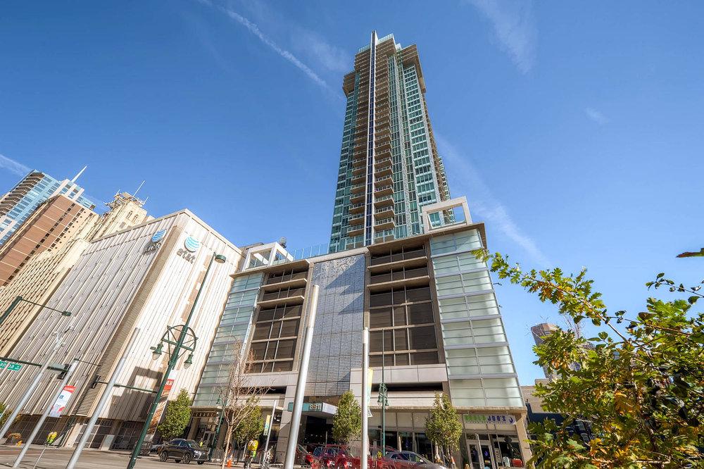 Iconic building facade