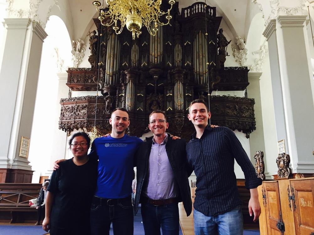 The Vor Frelsers Kirke in Copenhagen