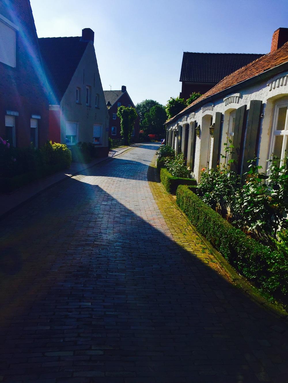 The stunning village of Rysum.