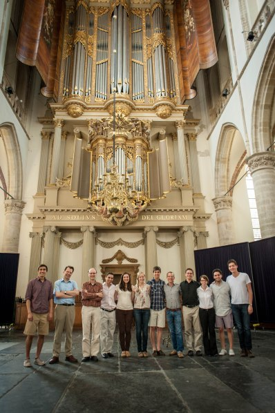 The group with the Van Hagerbeer/Schnitger Organ.