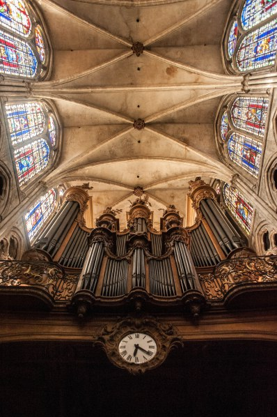 The organ of St. Séverin