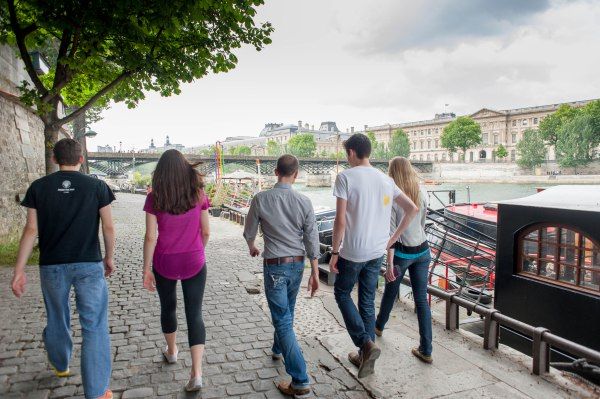 …and a stroll along the Seine…