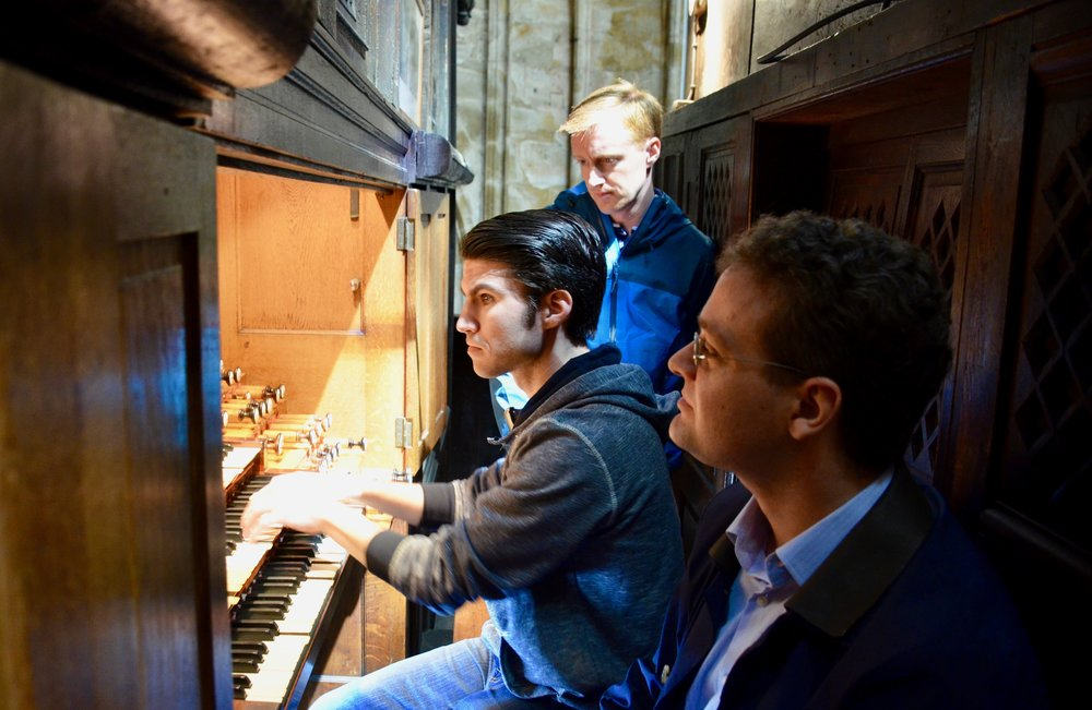 Brandon Santini playing Vierne Sixth Symphony at St. Ouen in Rouen, France - Boston Organ Studio