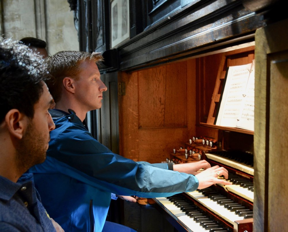 "Jon Ortloff playing the Choral from Symphony 10 ""Symphony Romane"" - Charles-Marie Widor - St. Ouen in Rouen, France - Boston Organ Studio"