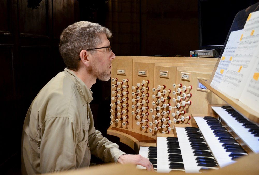 Chris Porter plays Vision of the Eternal Church - Messiaen at  Notre Dame de Paris - Boston Organ Studio