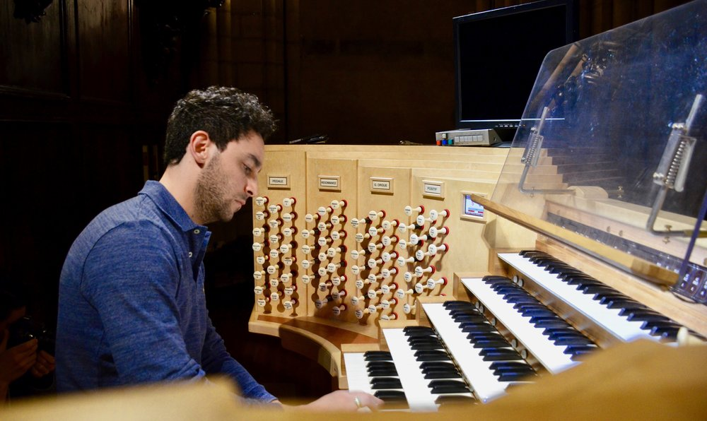 Gianmarco Massameno playing at Notre Dame de Paris - Boston Organ Studio