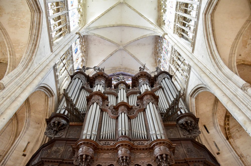 The Cavaillé-Coll organ in Rouen.