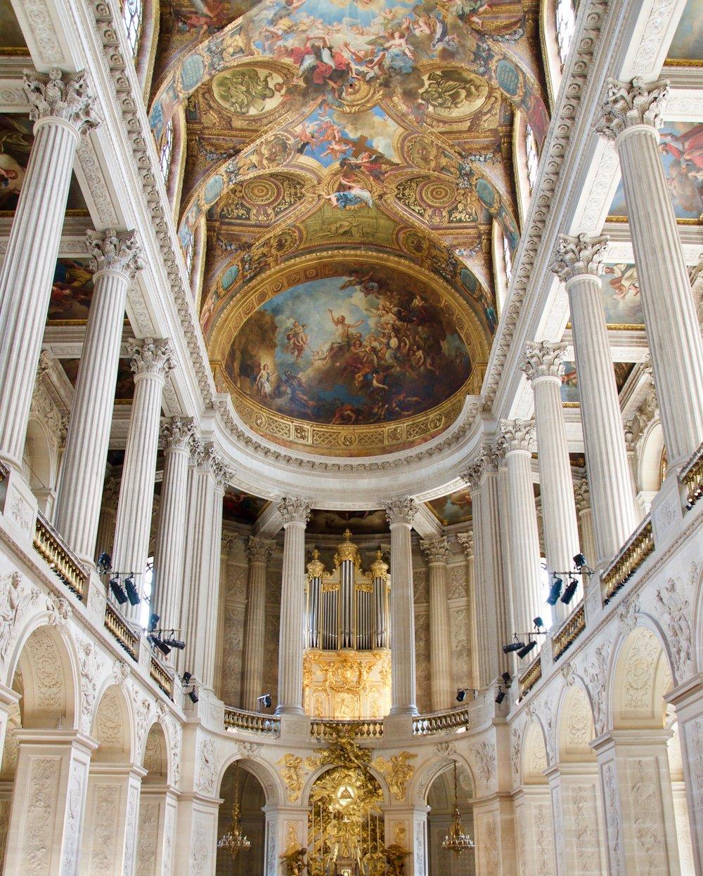 La Chapelle Royale in Versailles, France - Boston Organ Studio