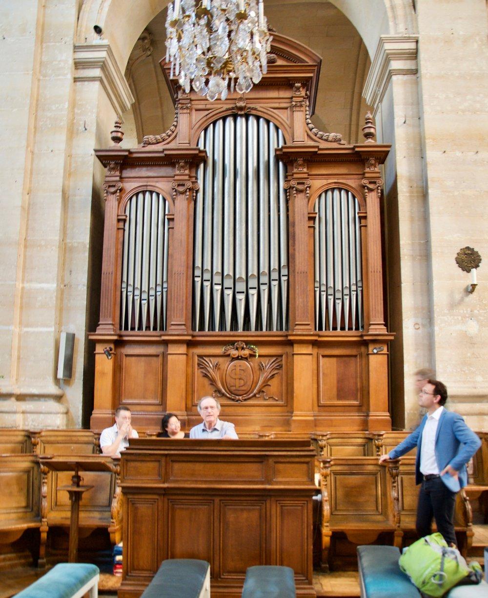 Cavaillé-Coll Choir Organ at the Cathédrale of Saint Louis in Versailles