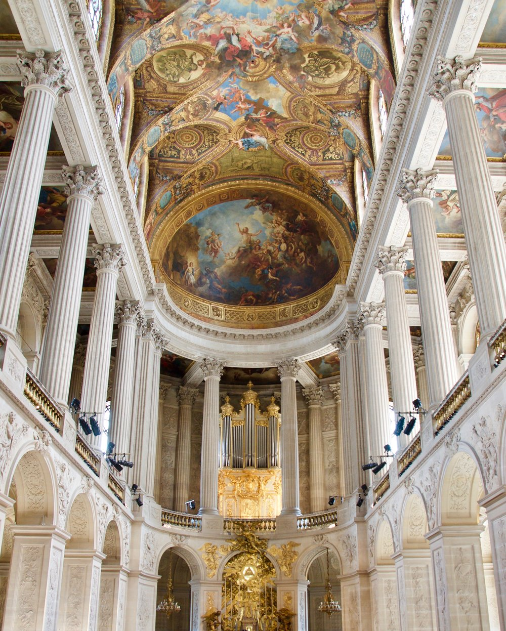 La Chapelle Royale in Versailles - an organ fit for a king!