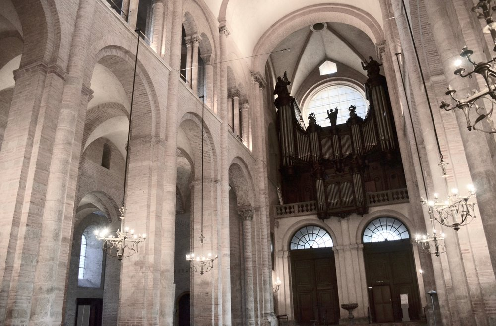 The Cavaillé-Coll organ, St-Sernin, Toulouse