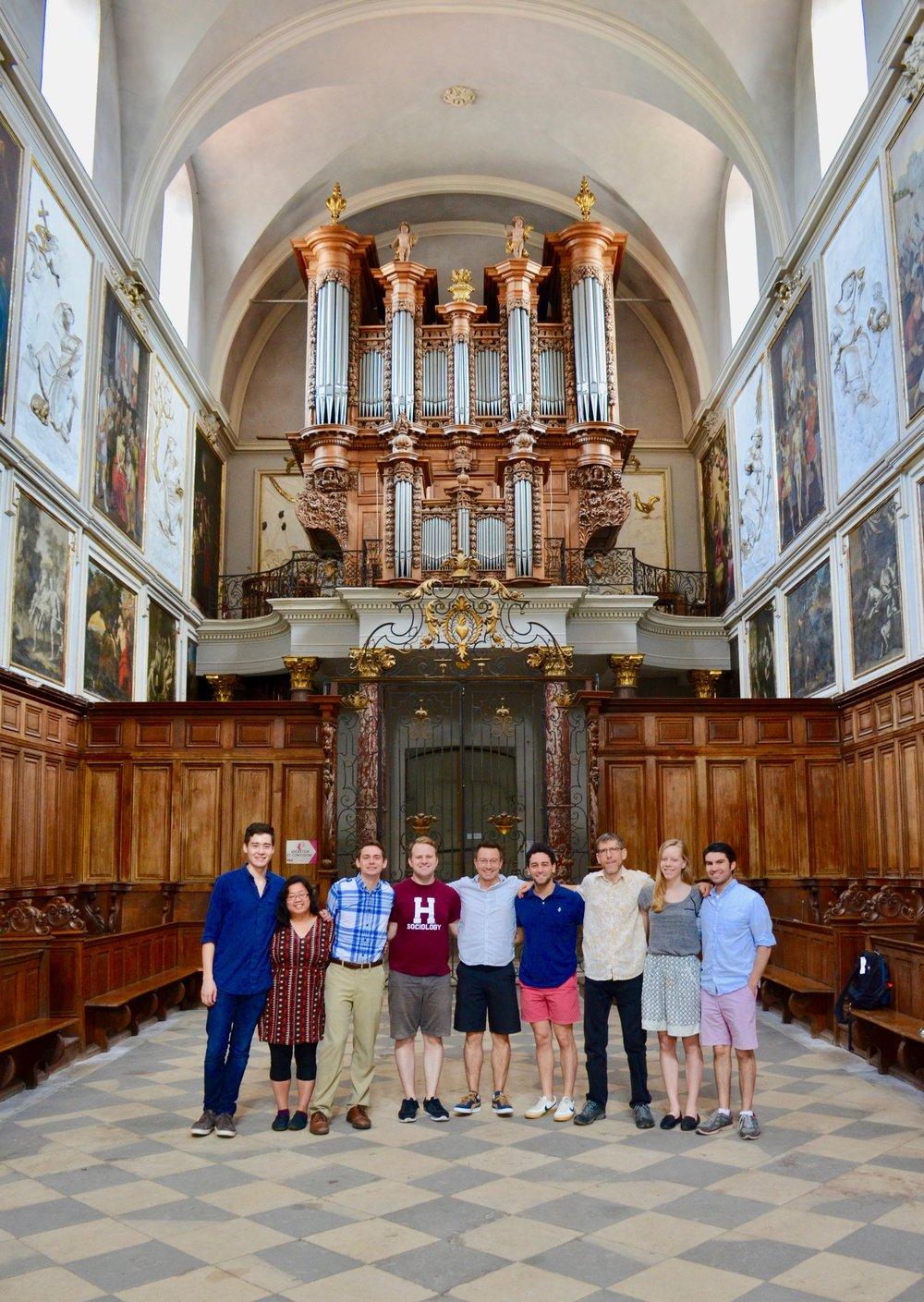 Boston Organ Studio in St Pierre des Chartreux, Toulouse