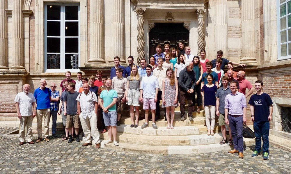 Students and professors from Toulouse Conservatory, the Institute for Church Music in Berlin, and Boston Organ Studio in Toulouse.
