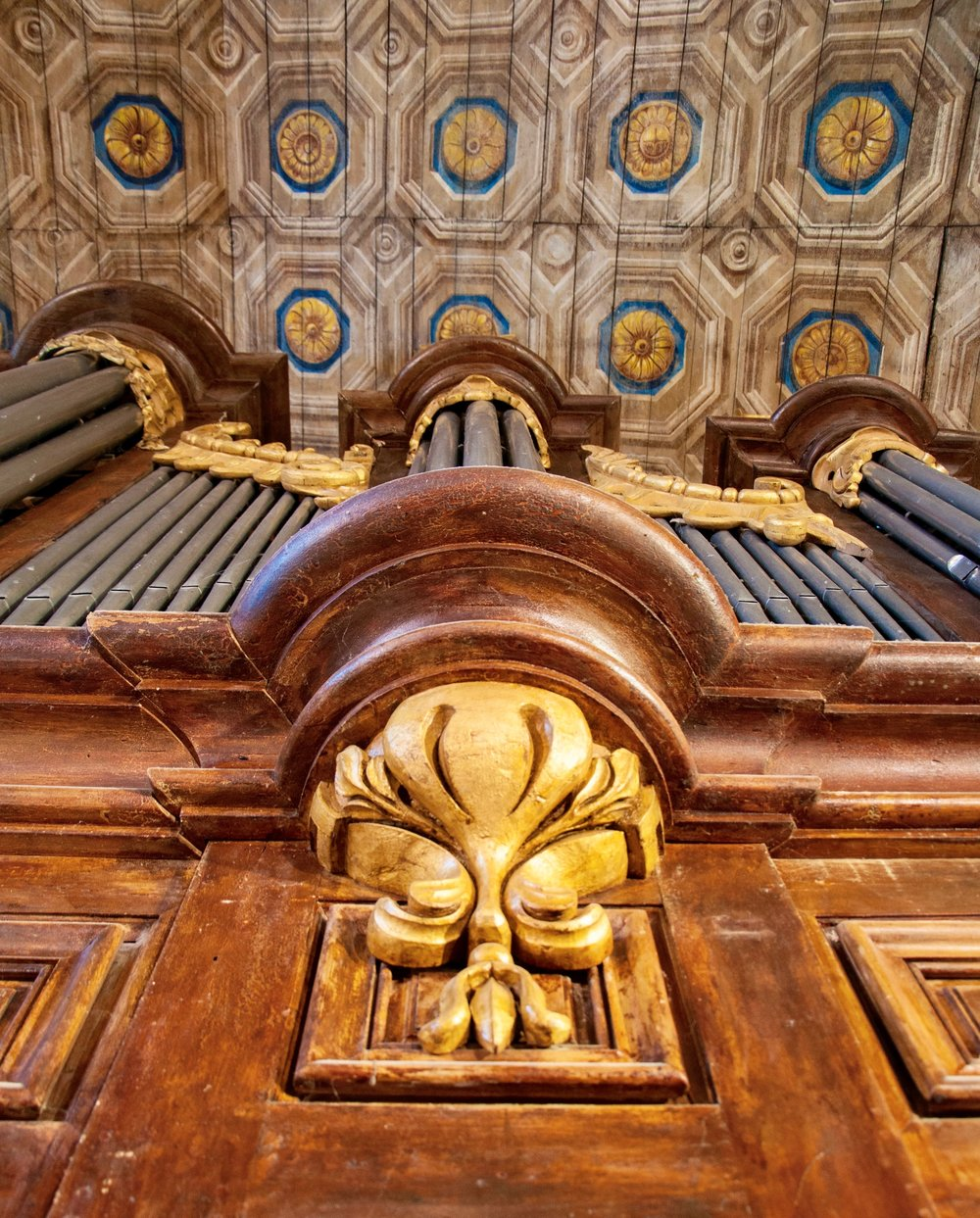 St. Felix church organ built by Gregoire Rabiny