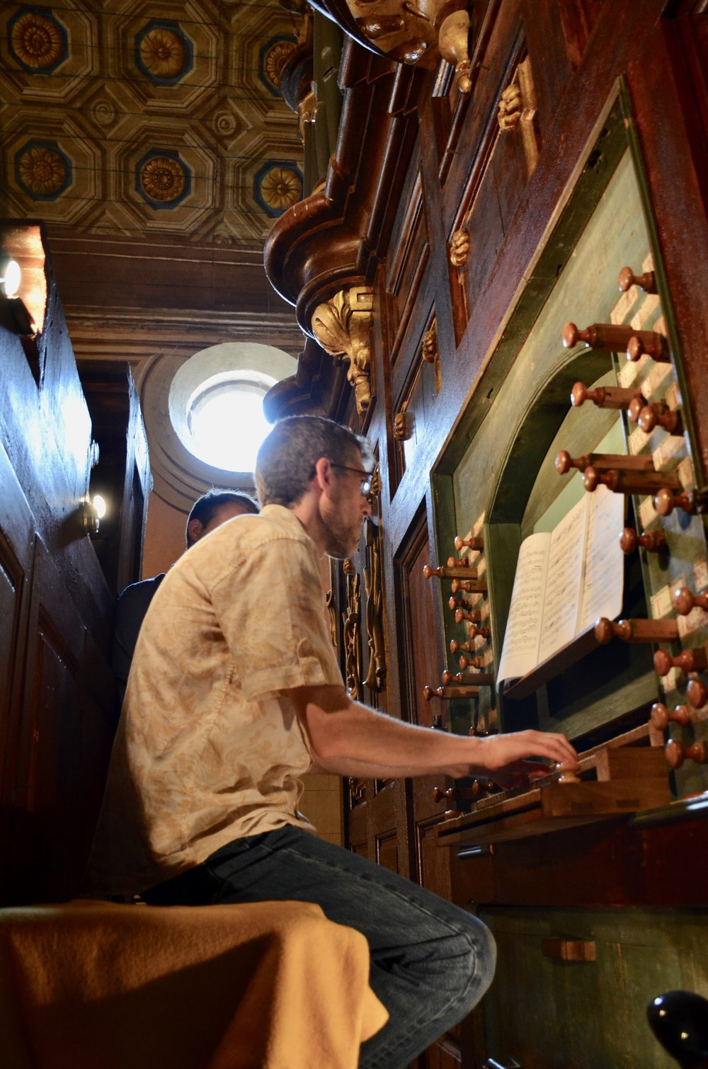 Chris Porter plays the St. Felix church organ built by Gregoire Rabiny