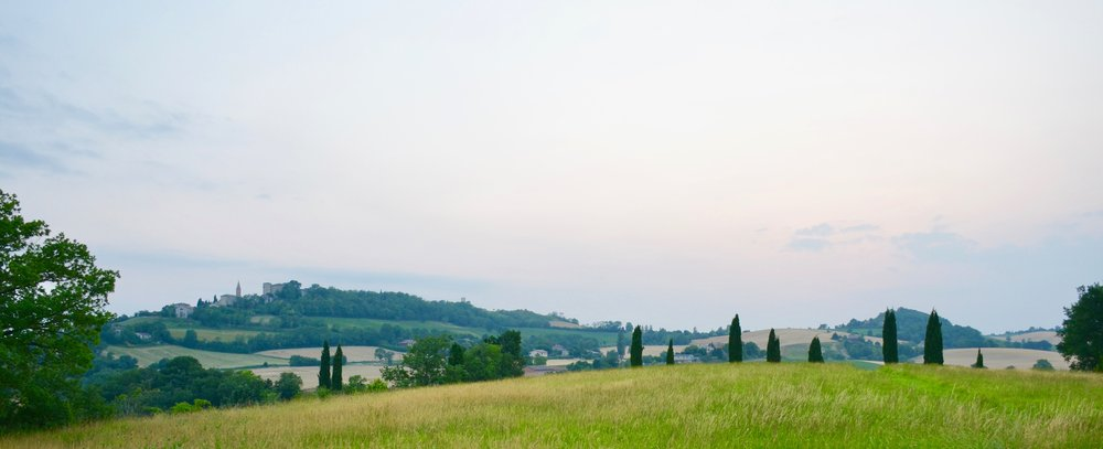The countryside in Toulouse