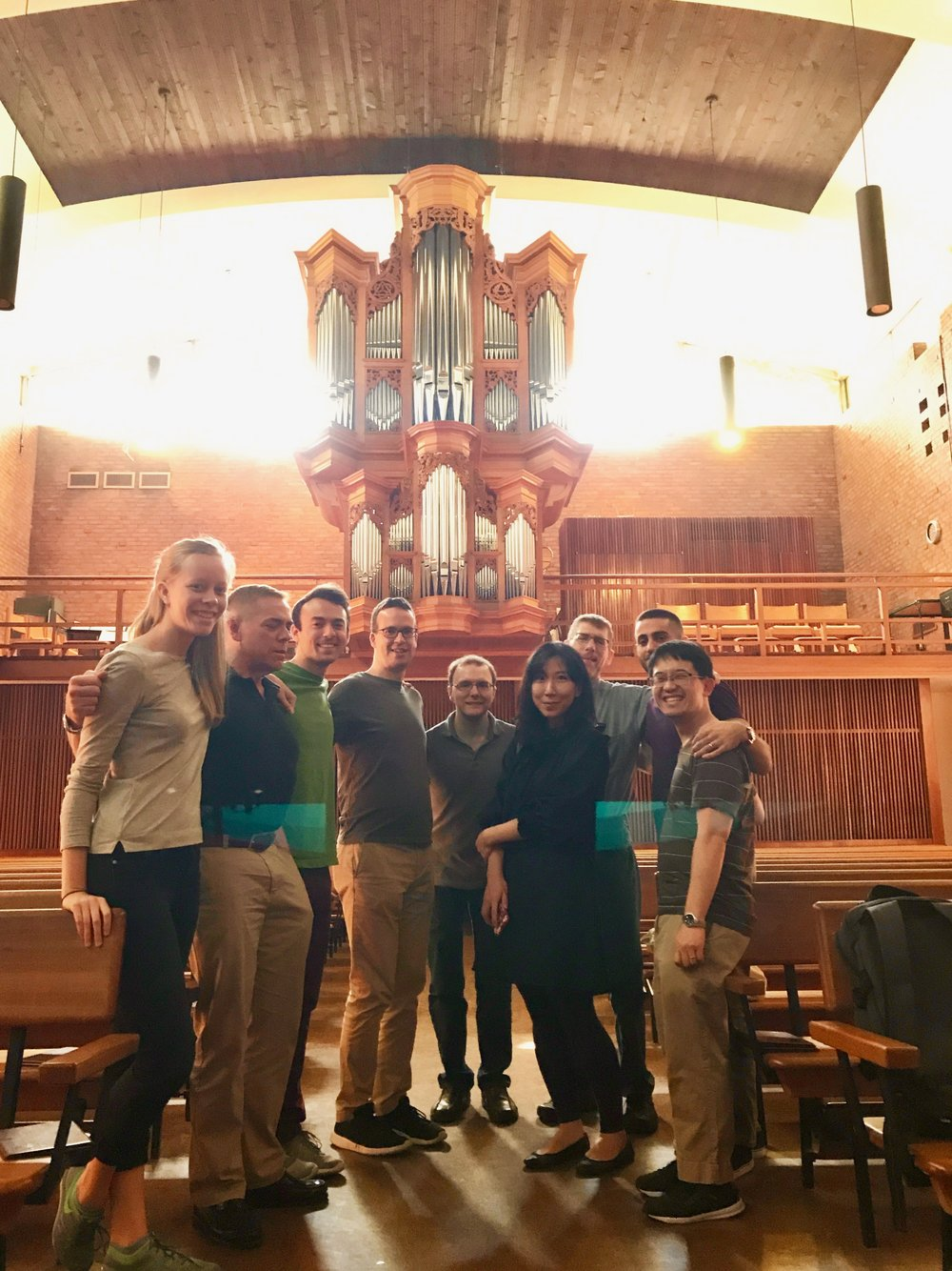 Boston Organ Studio at First Lutheran Church, with Jonathan Wessler