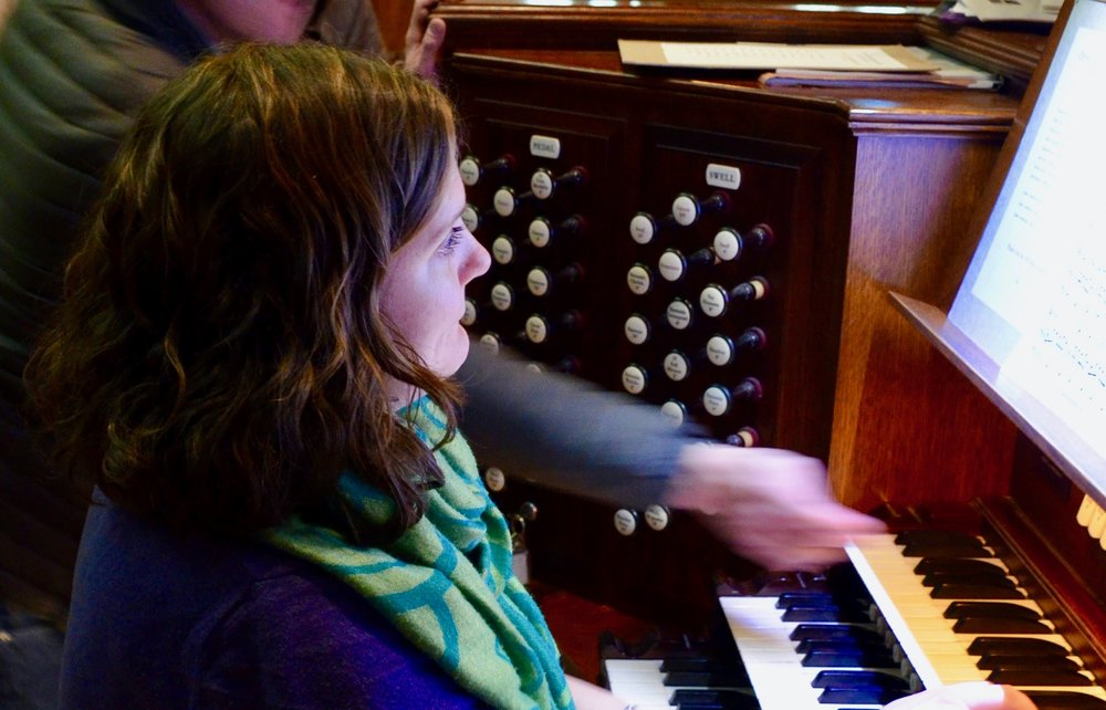 Chelsea Keating plays at Christ Church New Haven