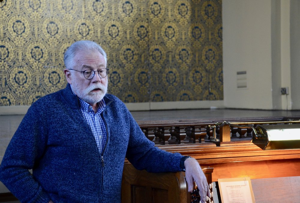 Organ Curator Nick Thompson-Allen speaks about the Woolsey Hall organ