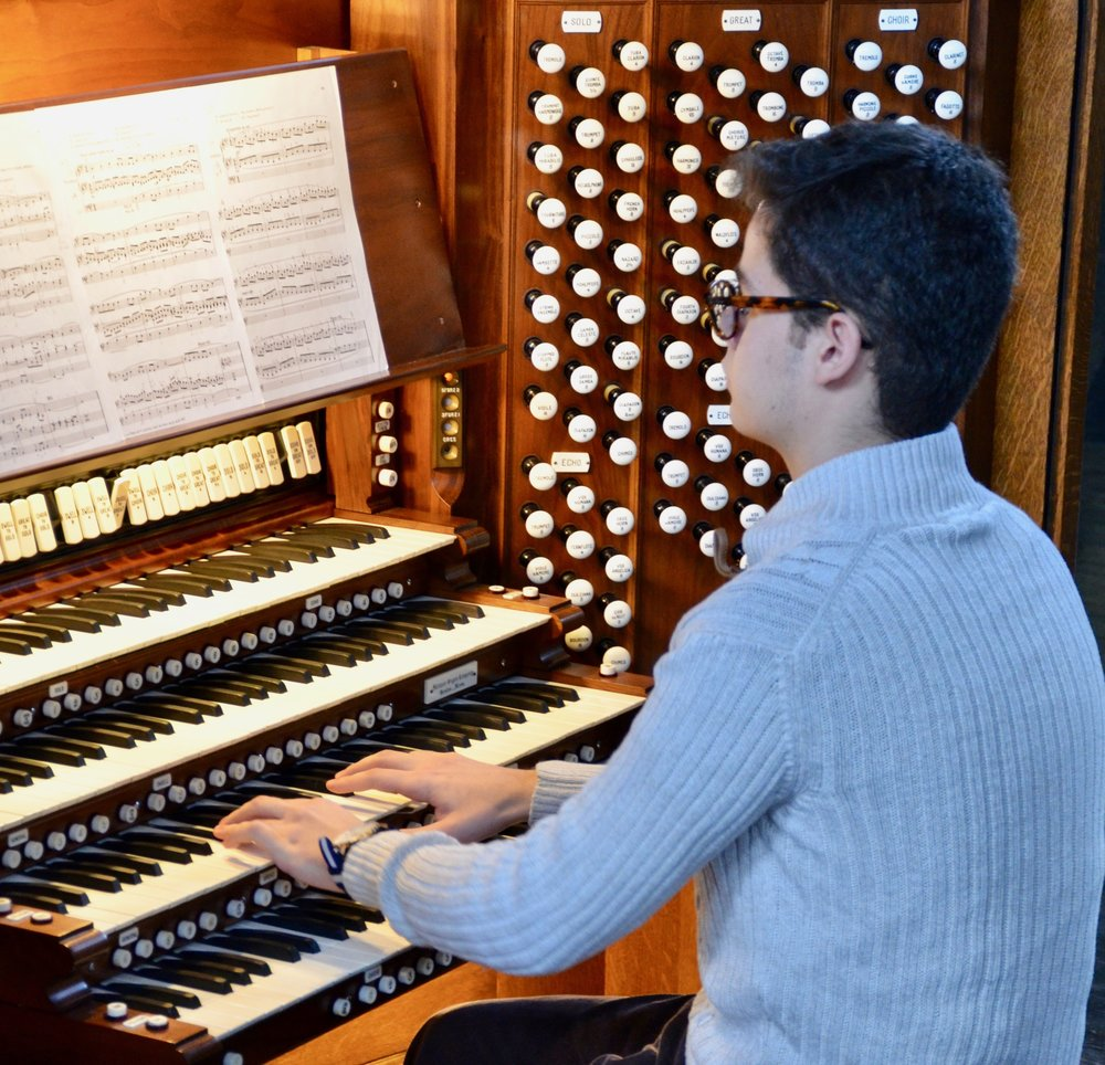 Federico Coppo performs Duruflé on the Skinner organ in Woolsey Hall
