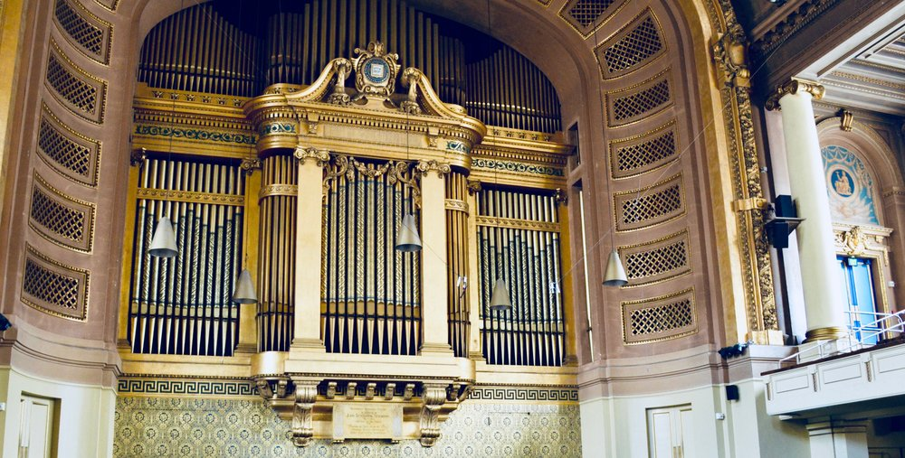 The Newberry Memorial Organ, Yale University.