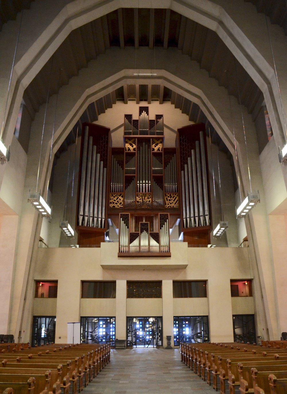 The Beckerath organ, St. Joseph Oratory, Montreal