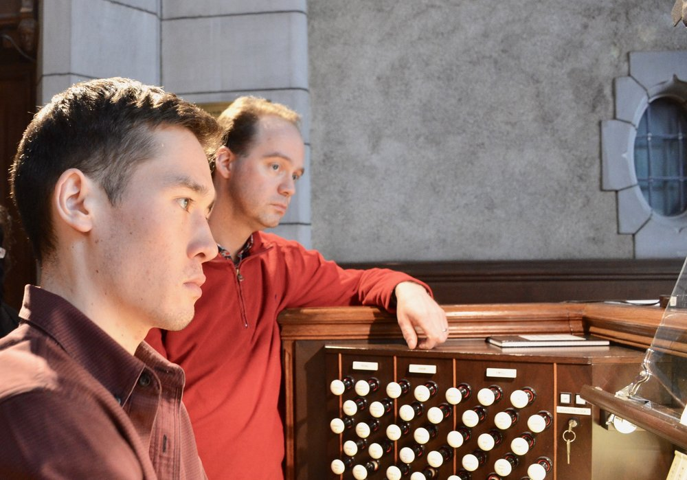Noel de Sa e Silva plays the Casavant organ, Church of St. Andrew and St. Paul, Montreal