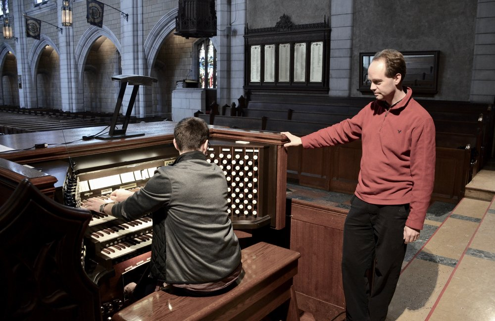 Kade Phillips plays the Casavant organ, Church of St Andrew and St Paul, Montreal