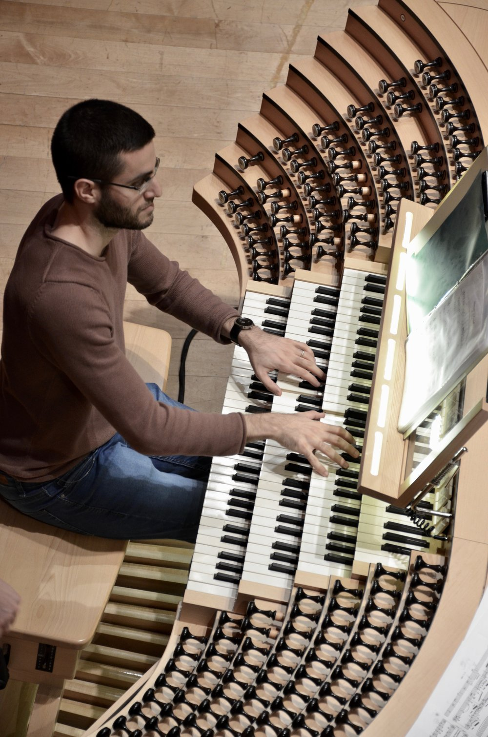 Dor Amram plays the Grand Orgue Pierre-Béique (Casavant) in Maison Symphonique, Montréal