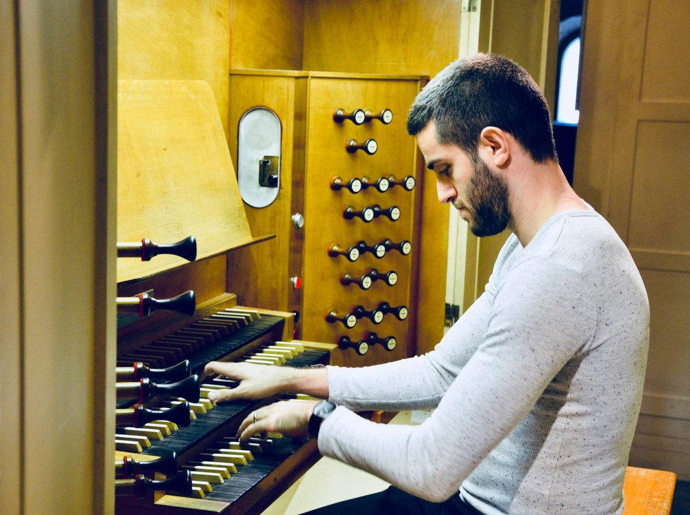 Dor Amram plays the Beckerath Organ, Church of the Immaculate Conception, Montreal.